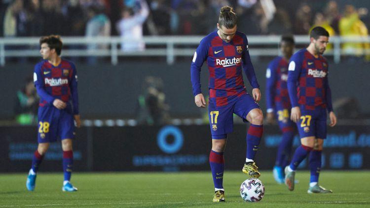 Antoine Griezmann Yang Sedang Bingung Dengan Sikap Klubnya Barcelona